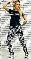 Женский спортивный костюм принт Dior