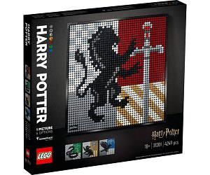 Lego Art Гаррі Поттер Герби Хогвартса 31201