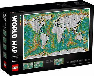 Lego Art Карта світу 31203