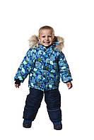 Зимний теплый комбинезон на мальчика 86-104 р