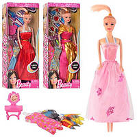 Кукла с нарядом 3881 ABC   29см, аксессуары, 3 вида, в кор-ке, 32,5-13-5см