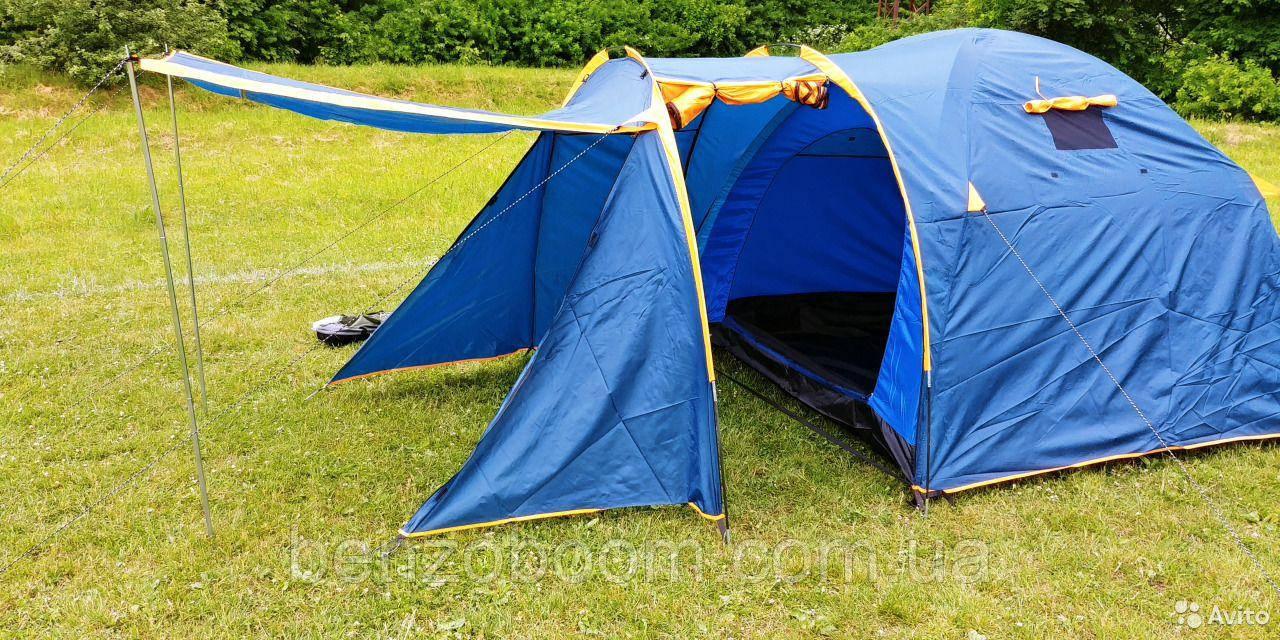 Палатка туристична Lanyu 1605 4-х місцевий двошаровий