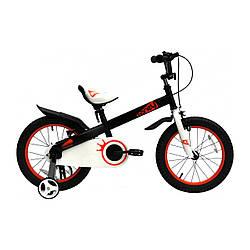 """Велосипед детский ROYALBABY HONEY 16"""" ST Черный"""