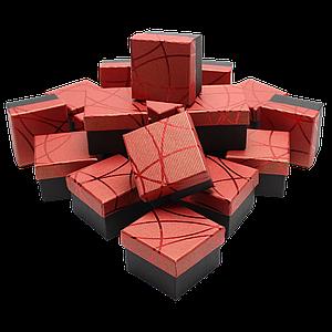 Коробочки для колец Красный