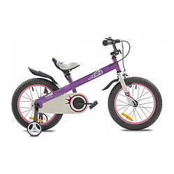 """Велосипед детский ROYALBABY HONEY 16"""" ST Фиолетовый"""
