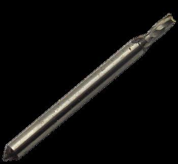 Фреза шпоночная Ø2 Р6М5 цилиндрический хвостовик