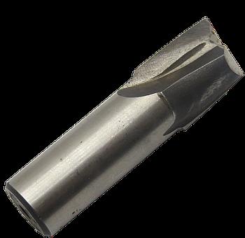 Фреза шпоночная Ø25 Р6М5 цилиндрический хвостовик