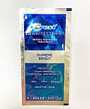 Відбілюючі смужки для зубів CREST 3D White Supreme FlexFit упаковка 1 пара. (6 кольорів), фото 2
