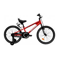 """Велосипед детский CROSSRIDE SONIC 20"""" BMX ST Красный"""