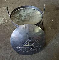 Крышка для костровой сковородки 35 см