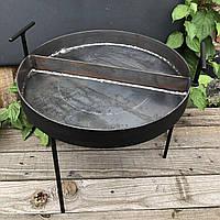 Двохсекційна сковорода з диска борони 30 см