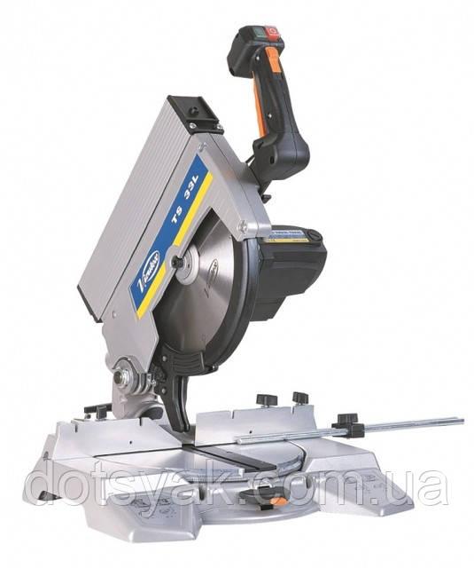 Пила маятниковая торцовочная Virutex TS 33W с лазерным указателем реза