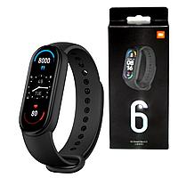 Фитнес браслет Smart Mi Band M6 с измерением кислорода и давления. Смарт часы. Фитнес трекер Реплика