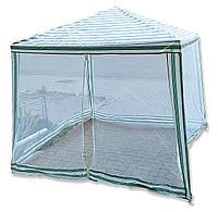Садовый павильон с москитной сеткой тент размером 3x3 м