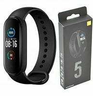 Фитнес браслет M5 Band Smart Watch, шагомер, фитнес трекер, пульс, монитор сна, умные часы, смарт часы Реплика