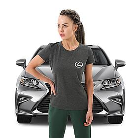 Женская футболка Лексус