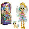 Лялька Энчантималс «Royal Enchantimals» — Лялька Пегас з вихованцем, 15 см (GYJ03)