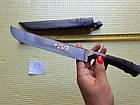 Узбецький ніж. Пчак великий-шеф. Рукоять кістка, сталь ШХ-15, фото 5