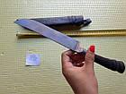 Узбецький ніж. Пчак великий-шеф. Рукоять кістка, сталь ШХ-15, фото 6