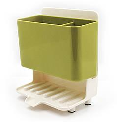 Органайзер для кухонных принадлежностей на раковину, со сливом ANGO