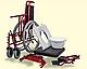 Низькоактивні крісло колісне з гігієнічним отвором базова модель 244, фото 2