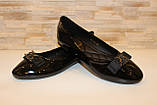 Балетки женские черные лаковые Т1362, фото 3