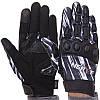 Мотоперчатки чоловічі з закритими пальцями і протектором NERVE KQ1056 розмір XL