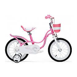 """Велосипед детский ARDIS LITTLE SWAN 16"""" розовый с корзинкой"""