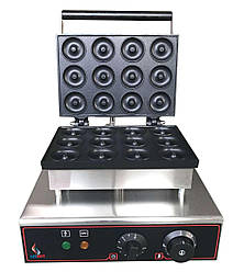 Аппарат для пончиков Airhot DM-12 для приготовления донатсов пончиковый аппарат в кафе бар