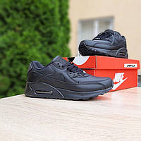 Женские кроссовки Nike Air max 90 (черные) О20412