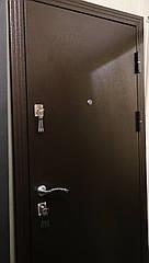 Двері метал/метал мінвата 70 мм, утеплений короб!