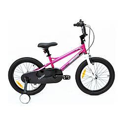 """Велосипед детский ARDIS FINDER 16"""" розовый + боковые колеса"""