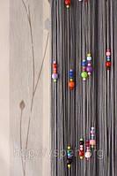 Кисея Нитяные шторы Капитошка в детскую К35