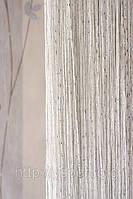 Нитяные шторы кисея Дождь ДО1