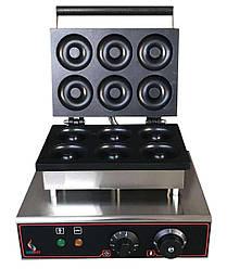 Аппарат для пончиков Airhot DM-6 для приготовления донатсов пончиковый аппарат в кафе бар