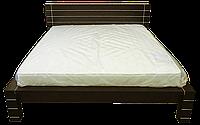 Кровать из массива Империя (160*200)+патина