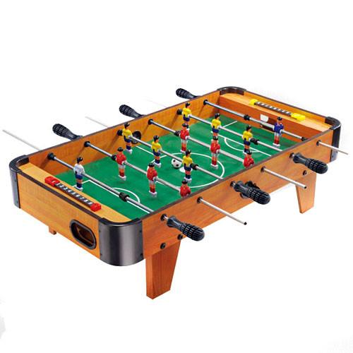 Футбол ZC 1002 A  деревянный, на ножках, на штангах, 80-42,5-23см, в кор-ке, 71-42-7см