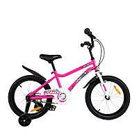 """Велосипед дитячий RoyalBaby Chipmunk MK 18"""", OFFICIAL UA, рожевий"""