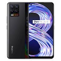 """Смартфон Realme 8 8/128Gb Black Global, 64+8+2+2/16Мп, 2sim, 6.4"""" AMOLED, 5000mAh, 4G (LTE), 8 ядер"""