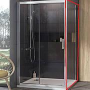 Стенка для душевой кабины Ravak 10° 10PS-90 (профиль - белый, стекло - transparent) 9UV70100Z1