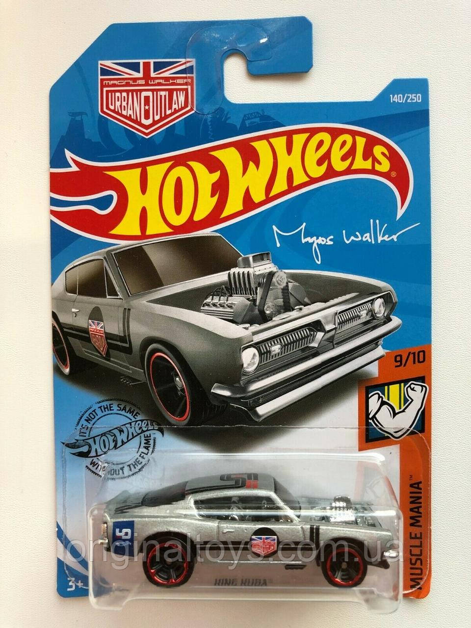 Базовая машинка Hot Wheels King Kuda