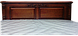 Кровать из  дерева Корадо (160*200) белая+ золото, фото 3