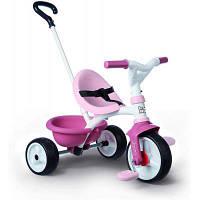 Детский велосипед Smoby Be Move 2 в 1 с багажником Розовый (740332)