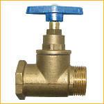Вентиль латунный 3/4``, внутренняя - наружная резьба (холодная вода).