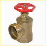 Клапан пожарного крана латунный 1``, угловой