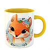 Чашка Лисица в цветах, фото 6