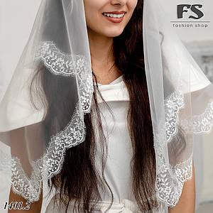 Нежный современный платок на венчание, в храм Оливия