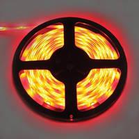 Светодиодная лента SMD 5050 60 диодов/метр  красный