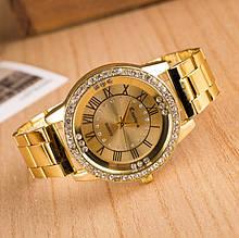 Наручные женские часы Kanima золотые