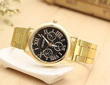 Золотые мужские наручные часы